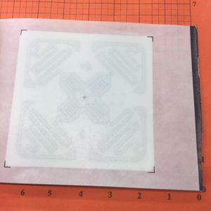 RFID Omnidirectional H47 Impinj Monza 4QT UHF Inlay Label pictures & photos