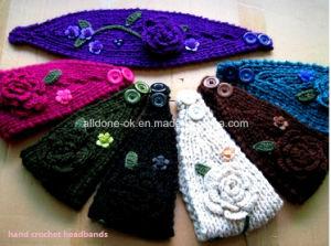 Custom Fashion New Design Hand Knitted Ladies Headband Neckwarmer Turban pictures & photos