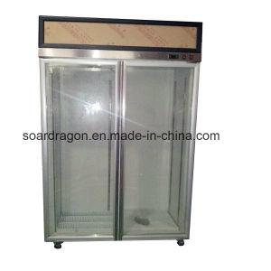Low Temperature Glass Display Refrigerator (-18~-22C) pictures & photos