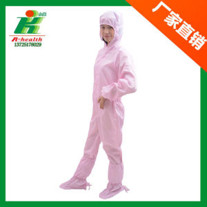 ESD Clean Room Jump Suit Coverall (work garment) for Worker in Cleanroom pictures & photos