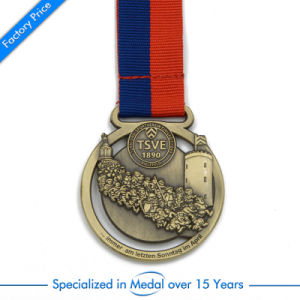High Quality Wholesale Award Souvenir Metal Medal pictures & photos