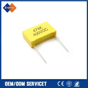 Mini Box Type Metallzied Polyester Film Capacitor Tmcf06 pictures & photos