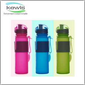 Portable Silicone Kettle Sports Plastic Water Bottle pictures & photos