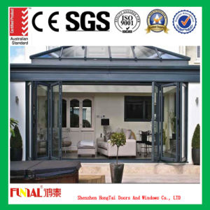 Aluminum Folding Window and Door for Construction and Decoration pictures & photos
