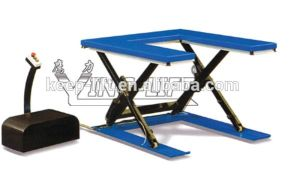 U-Shape Low Profile Electric Lift Table pictures & photos