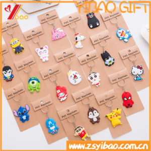 Custom Logo Soft PVC Keychain for Promotion Gift pictures & photos