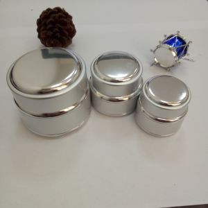 Round Aluminum Jar with Screw Cap pictures & photos