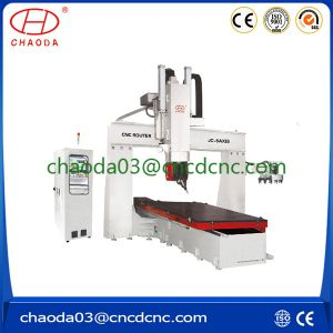 Table Moving 5 Axis CNC Machine for Molds and Sculptures pictures & photos
