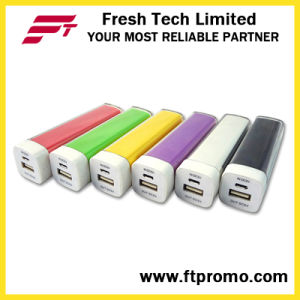 Hotsell Plastic Lipstick Colorful Power Bank (C004) pictures & photos