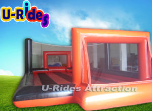 Customize Inflatable Soccer Mannequin Fabric Soccer Ball Football Field For Rental pictures & photos
