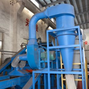 Cqf Coarse Fibber Separator ISO Tire Recycling Plant pictures & photos