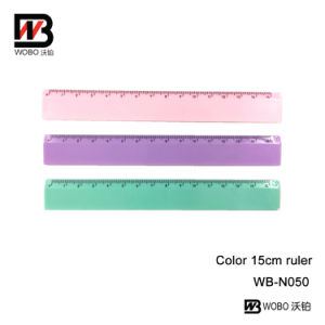 Opaque Color PS Stationery Ruler for Office and School Supply pictures & photos
