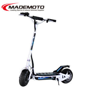 36V and 48V 500W Hub Motor Electric Scooter pictures & photos