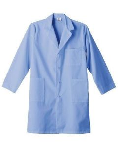 Wholesale Custom Large Blue Lab Coat (A617) pictures & photos