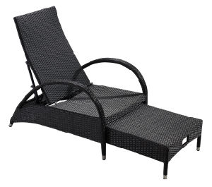 Garden Wicker/Rattan Pool Chaise Lounge Set - Outdoor furniture (LN-910) pictures & photos
