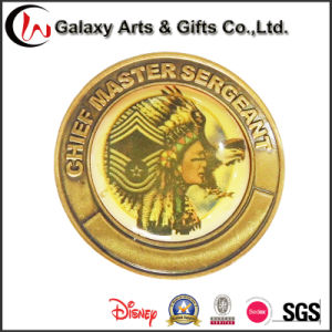 Custom Coins Medal with Metal Plating Gold Polished Brass pictures & photos
