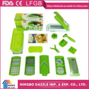 Vegetable Slicer Dicer 12 Kitchen Products Vegetable Slicer pictures & photos