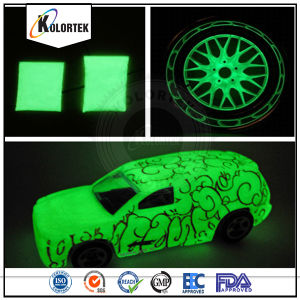 Glow in The Dark Powder Pigment for Car Paint pictures & photos