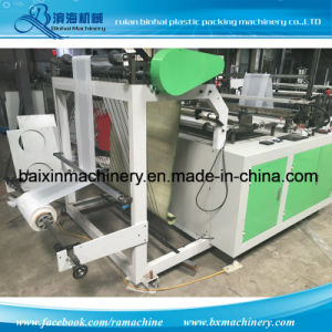Computer Control One Line Plastic Bag Making Machine pictures & photos