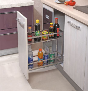 China Factory Kitchen Cabinet Pull out Basket 205 pictures & photos