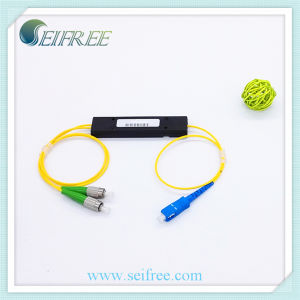 2 Way Fiber Optical Splitter 1260~150nm PLC Splitter pictures & photos
