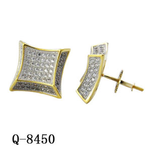 New Design Costume Silver Earrings Hip Hop Jewelry pictures & photos