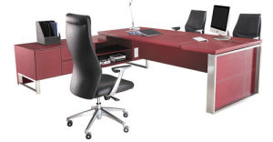 Modern Metal Furniture Office Manager Desk (AT032) pictures & photos
