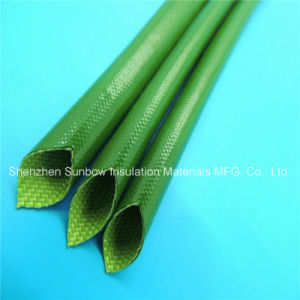 Insulation Materials Silicone Coated Wire Protection Fiberglass Braided Sleeving pictures & photos