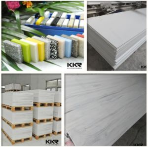 Big Slabs Modified Acrylic Corian Solid Surface Without Radiation pictures & photos