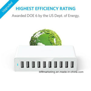 10A 10-Port USB Home Charger with 1.6m Power Cable pictures & photos