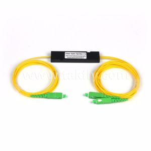 Customized 1X2 ABS Type FTTH PLC Splitter pictures & photos