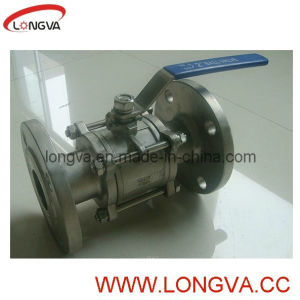 Stainless Steel Flange Ball Valve pictures & photos