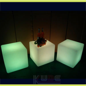 """Rechargeable and Remote Control 16"""" LED Cube Tool 40cm Bar Stool pictures & photos"""