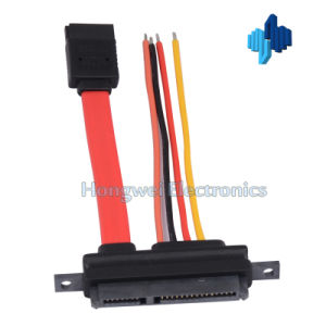 Data Power 7p to 7+15p with Latch SATA Cable
