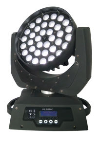 Zoom 36X10W 4in1 LED Moving Head Wash Light pictures & photos
