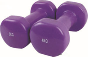 High Quality Colorful Neoprene Dipping Dumbbell pictures & photos