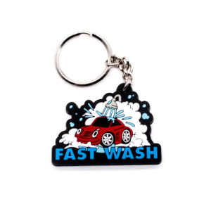 Promotion Customized Motorcycle EVA Key Chain pictures & photos