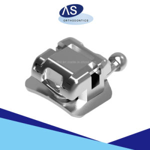 Orthodontic Self Ligating Brackets; Dental Passive Systm Self Ligating Brackets with Roth Mbt Standard High Torque pictures & photos