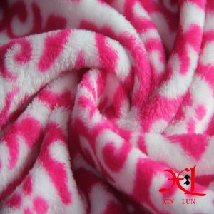 Print 100% Polyester Flannel Polar Fleece Fabric for Garment/Blanket pictures & photos