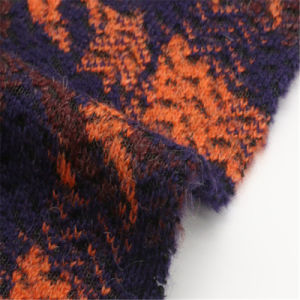 10%Mohair 30%Wool 20%Acrylic 40%Polyester Old Memory Style Woolen Fabric pictures & photos