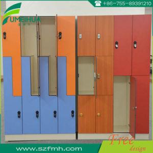 3 Door HPL Lockers for Changing Room pictures & photos