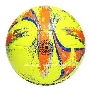 Machine Sewn 3.5mm PVC EVA Training Soccer Ball pictures & photos