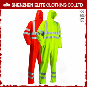 Custom Men Cotton Drill High Visibility Work Garment pictures & photos