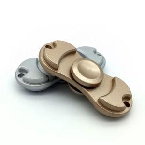 EDC Copper Metal Aluminium Alloy Brass Fidget Hand Spinner Toys pictures & photos