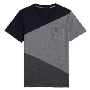 Factory OEM Men Round Neck T-Shirts Cotton Fashion T-Shirts pictures & photos