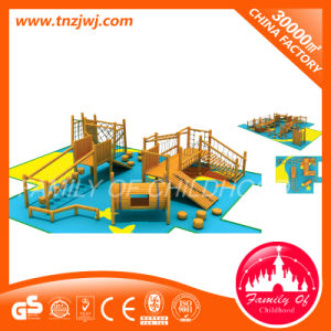 Children′s Wooden Outdoor Playground Amusement Equipment for Manufacturer pictures & photos