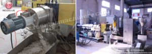 Die Cutting Extruder Plastic Granulating Line pictures & photos