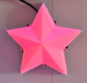 Pink Color Star LED Light Source pictures & photos