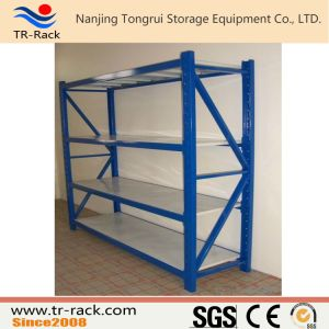 Long Span Warehouse Storage Industrial Metal Meduim Shelf/Rack pictures & photos