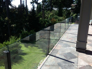 Villa Balcony Glass Balustrade Proch Glass Fencing for Fiji pictures & photos